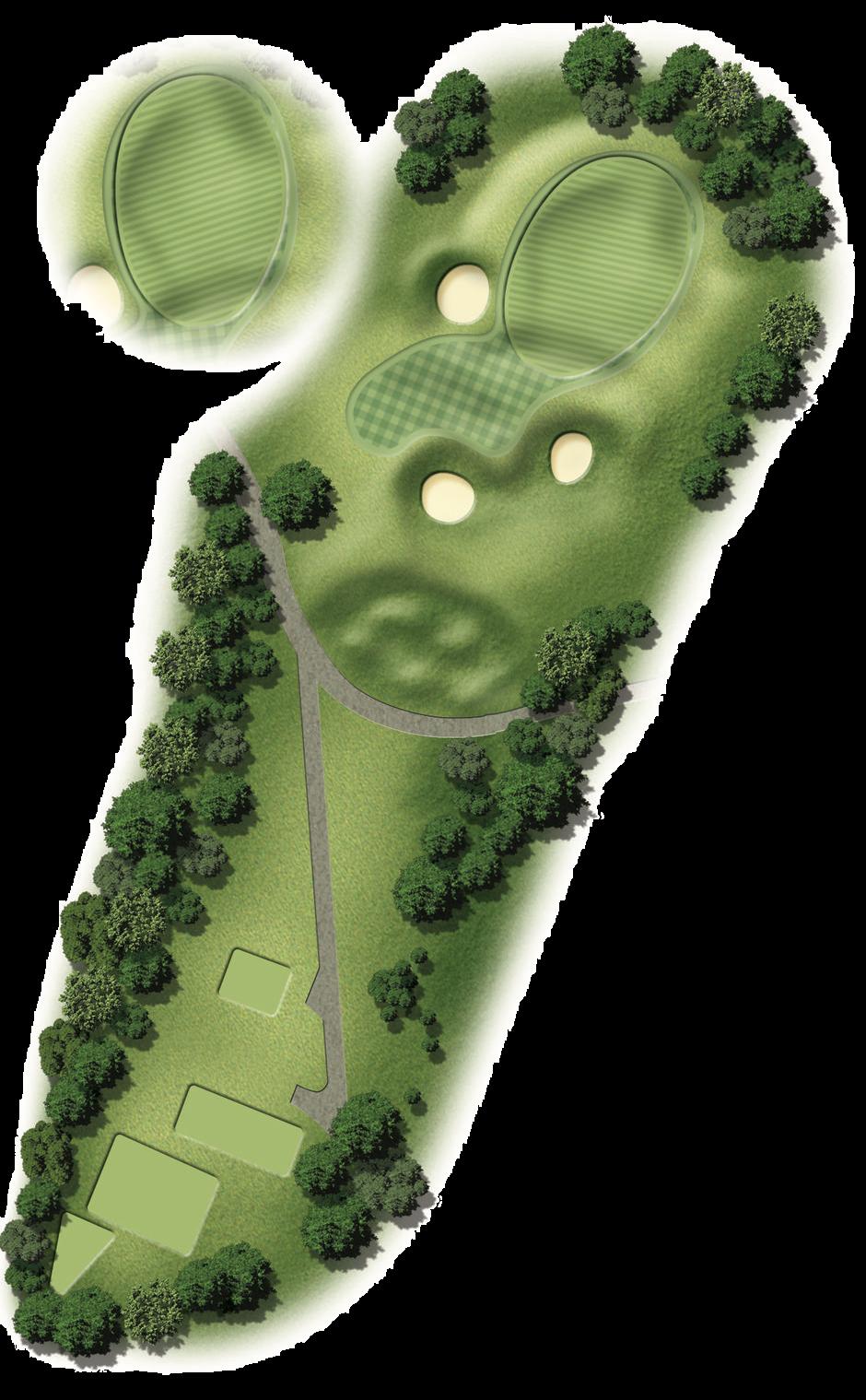 Hole 5 Map