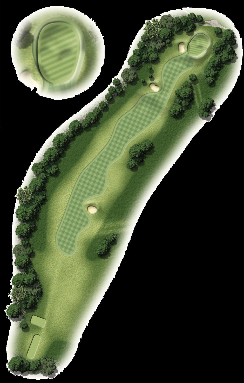 Hole 7 Map